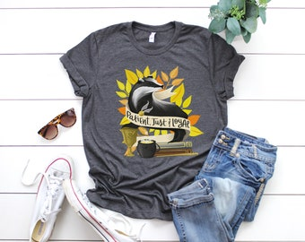 Hufflepuff Hogwarts House Harry Potter Fangirl Book Lover Unisex T-Shirt