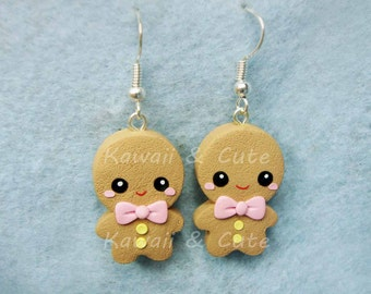 Earrings Gingerbread