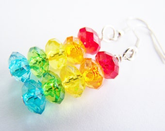 Somewhere over the Rainbow  - FREE SHIPPING WAI - A beautiful gift - affordable gifts - beach - Spring - Summer - bright - pride - fun