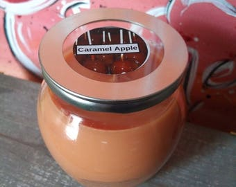 12 Oz Caramel Apple Scented Candle