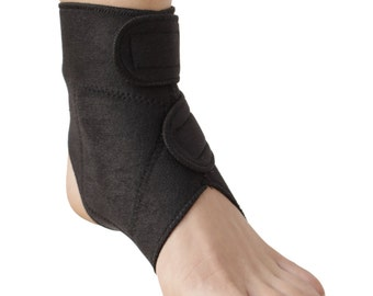 Ankle Support   Dual Magnetic & Tourmaline Technology   Self-Heating   Adjustable Fit