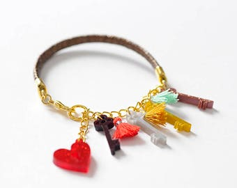 Keys of Heart Bracelet / Love Talismans Collection.