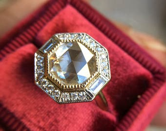 The Milan Ring: Custom Made setting (Center Stone not included)