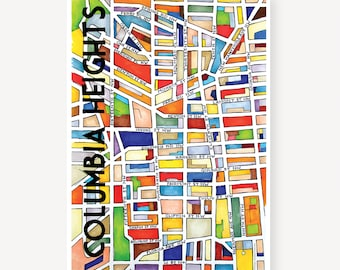 Columbia Heights Neighborhood Map