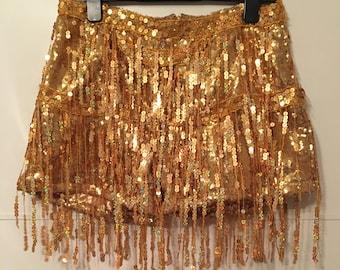 Handmade Sequin Tassel Shorts