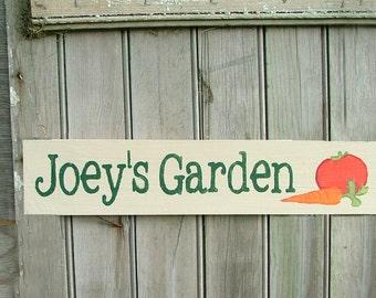 Custom Name Garden Sign | Personalized Garden Decor | Choose Colors and Design | Gift for Neighbor, Grandma, Mom, Grandpa, Dad, Teacher