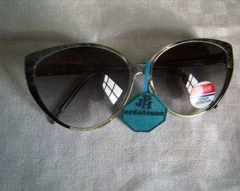 Sunglasses cat eye woman, deadstock, retro frames, Starlet Clubmaster classic woman,