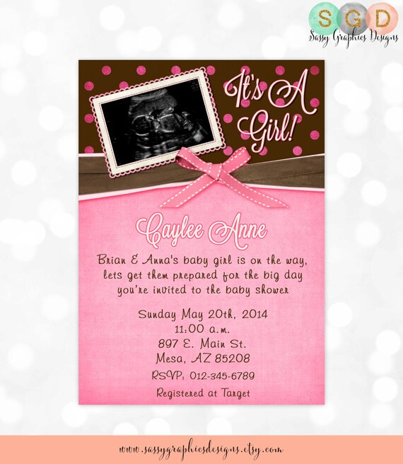 Ultrasound Baby Shower Invitations Blue Preppy Bow Tie Bowtie Baby