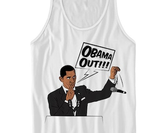 Obama Tribute Sweatshirt, Obama Out, Farewell Speech, Potus,First Black President