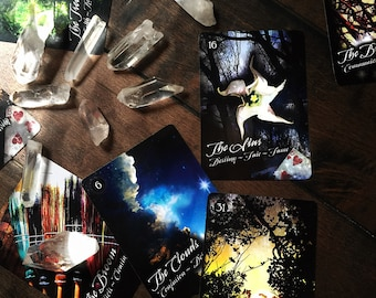 The Witchery Oracle ~ Lenormand ~ Tarot ~ Divination ~ witchcraft ~ cartomancy ~ visions ~ witches ~ tarot cards