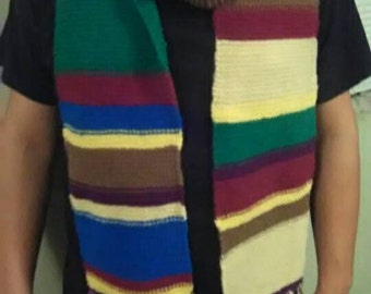 Season 13/ Tom Baker Inspired Scarf!