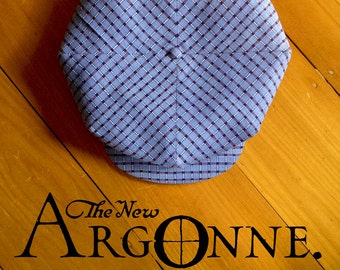 THE ARGONNE - Bespoke 1920's Style Four-Panel Eight Dart Flat Cap - Made to Order