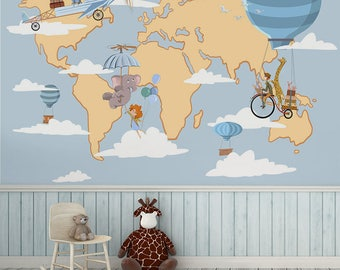 Nursery wallpapers etsy gumiabroncs Gallery