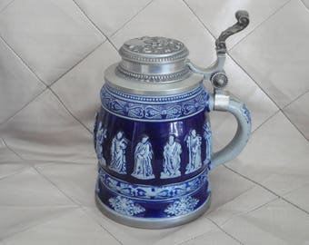 Very Large RASTAL 1975 Beer Stein Tankard RARE German