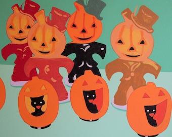 gurley halloween candles, original painting, acrylic 24 x 20