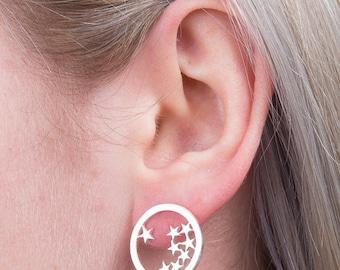 Star In A Bottle Earrings