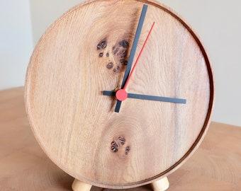 Burr Wych Elm Clock
