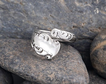 Silverware Handle Ring (Spoon Ring) Size 1 3/4 SR153