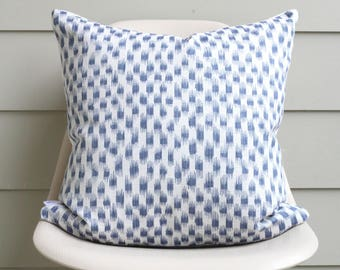 """20"""" x 20"""" Blue Spot Pillow Cover - COVER ONLY"""