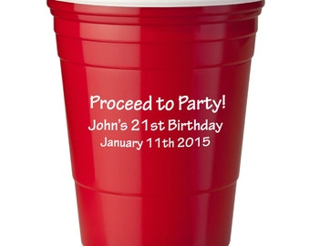red solo cup party etsy