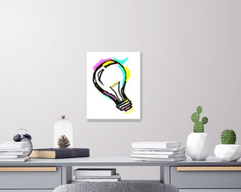 Instant Download - Imagination and Creativity Light Bulb
