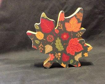 Leaf, fall leaf, fall decorations, fall, handmade decorations
