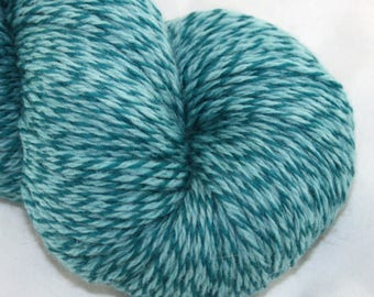 SALE--Seafoam-- Tabby Cat-- Worsted