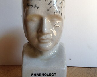 Small Phrenology Bust