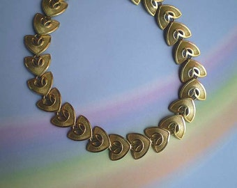Vintage 40s 50s Bergere Moderne Choker Necklace