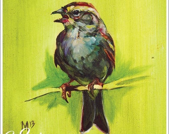 Print or Note Card: Chipping Sparrow