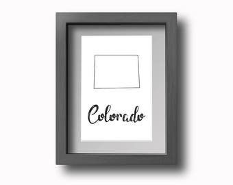 PRINTABLE Colorado Wall Art!