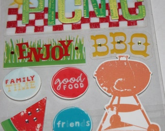 Soft Spoken Picnic Stickers