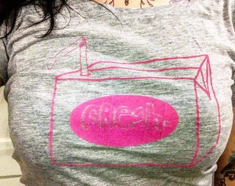 "Organic cotton T-shirt ""fresh"""