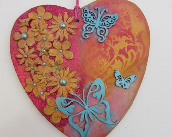 Indian Summer Butterfly Panel