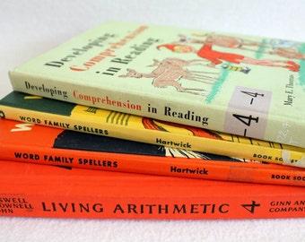 Choose your Rebound Journal // Elementary School Books by PrairiePeasant
