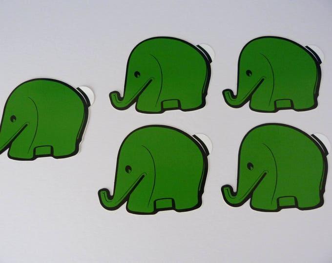 Colani elephant sticker vintage 1970's / 80's