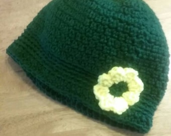 New Crocheted Lady's Flapper Hat