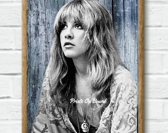 Stevie Nicks Art Print Download Rock Legend Instant Download Art Downloadable Art Print Fleetwood Mac Music Gift Printable Art Gypsy Decor