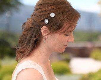 Bridal hairpin, set of 2, Wedding headpiece Bridal haircomb Wedding Hair Accessories Bridal hair comb Wedding headpiece Bridal jewelry