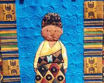 International Adoption Quilt Patterns - African Boy