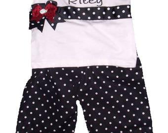 Ladybug Big Sister Outfit, Ladybug Big Sister Personalized Shirt, Ladybug Big Sis, Embroidered Big Sister Shirt