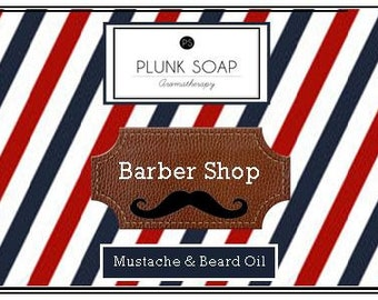 Barber Shop Mustache and Beard Conditioner