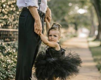 Breakfast at Tiffany's Tutu Dress- Audrey Hepburn Costume- Audrey Hepburn Dress- Black Dress
