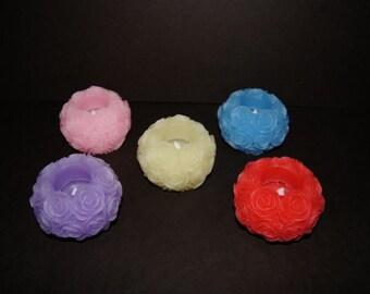 Floating Roseball Candle LED