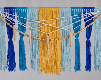 Fringe in Cotton w/ Beads