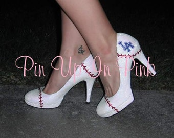 Custom Baseball Heels