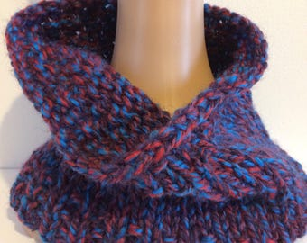 Childrens chunky cowl