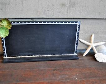 Succulent inspired chalk board