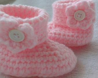 Baby booties crochet/Babybooties crochet