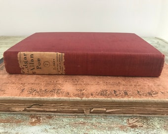 Antique Edgar Allan Poe / Sacred Chorus book